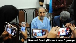 Mohammad Ali Najafi, ex minister, in court-- 29 May 2019