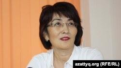 Правозащитник Бахытжан Торегожина.