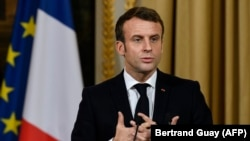 امانوئل مکرون، رئیس جمهور فرانسه،