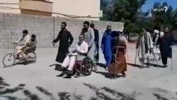 فراه کې د معلولانو شکایت