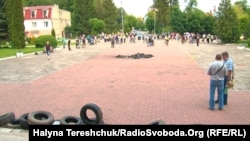 Акція протесту у Бориславі, 2 червня 2015 року