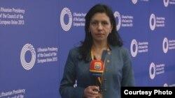 Jurnalista Angela Zaharova