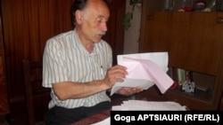 Давид оказался в последнем потоке заложников, которых из Цхинвали вывезли 27 августа 2008 года