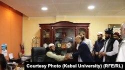 مراسم معرفی محمد اشرف غیرت رئیس جدید پوهنتون کابل