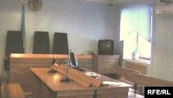 Зал Актюбинского областного суда.