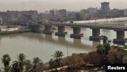 Տիգրիս գետը Բաղդադում