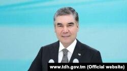 Түркіменстан президенті Гурбангулы Бердімұхамдов.