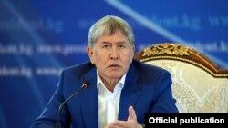 Алмазбек Атамбаев на пресс-конференции. 24 июля 2017 г.
