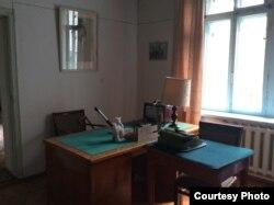 Рабочий кабинет Аалы Токомбаева сохранился таким же, каким он был при его жизни