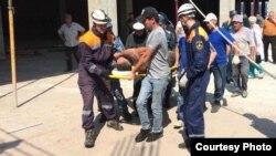 Трое рабочих оказались под завалами