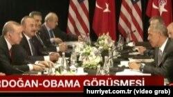 Բարաք Օբամայի և Ռեջեփ Էրդողանի հանդիպումը Չինաստանում, 4-ը սեպտեմբերի, 2016թ․
