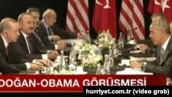 Recep Tayyip Erdoğan və Barack Obama Çində keçirilmiş G20 sammitində görüşüblər