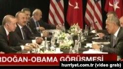 Erdoğanla Obama Çində görüşdü. 4.09.2016