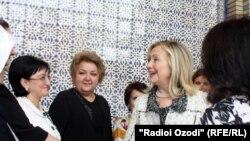 Хиллари Клинтон, Душанбе, 22 октября 2011