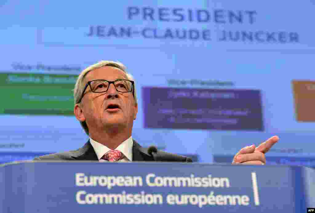 Jean-Claude Juncker, Luxembourg, president: The former long-serving prime minister of Luxembourg and chairman of the Eurogroup, which oversees the eurozone. Credited with being one of the architects of the European common currency, he is accused of being too federalist by some.