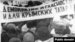 Мітинг кримських татар, 1988 рік