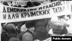Митинг крымских татар, 1988 год