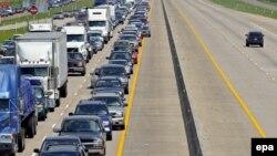 حدود دو میلیون نفر ایالت لوئیزیانا را ترک کرده اند. (عکس: AFP)