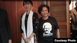 Аун Сан Су Джы і Сугайр Бэльхасэн
