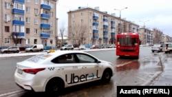 Казан урамында такси