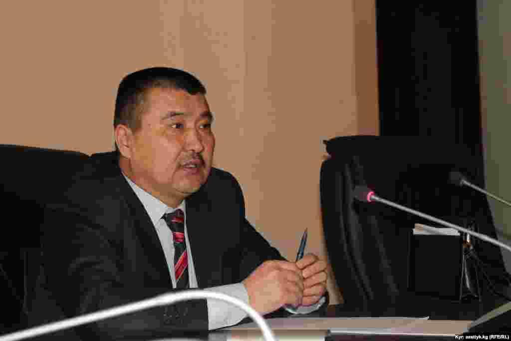 Айтмамат Кадыров, новый мэр Оша