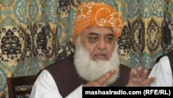 Pakistan -- Baluchistan: Maulana Fazal Rehman presser in Quetta, 23Sep2013