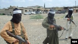 Pakistani Taliban fighters in South Waziristan in July 2008