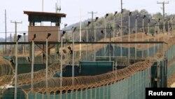Гуантанамо түрмесінің сыртқы көрінісі (Көрнекі сурет).