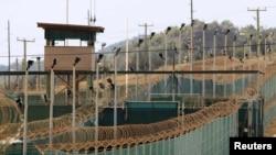 Американская военная база Гуантанамо, расположенная на Кубе. 6 марта 2013 года.