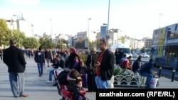 Стамбульский район Аксарай является местом скопления туркменских трудовых мигрантов