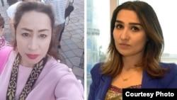 Дилноза Мухиддинова и Шахло Ибрагимова