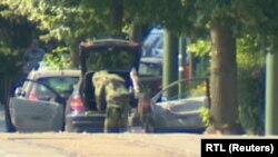 Բելգիա - Իրավապահները ավտոմեքենա են խուզարկում, Բրյուսել, 30-ը հունիսի, 2018թ․