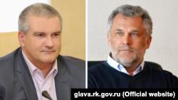 Сергей Аксенов и Алексей Чалый. Коллаж