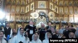 Севастополь, рождественский концерт в в Покровском соборе, 6 января 2018 год