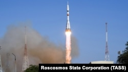 """Запуск ракеты """"Союз-2.1"""", архивное фото"""