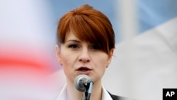 "Maria Butina has pleaded guilty to being an ""unregistered agent"" for a foreign power. (file photo)"