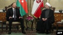 İ.Əliyev və H.Rouhani