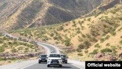 Дорога в район Шамсиддина Шохина