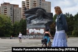Погруддя Ернста Тельмана у Східному Берліні