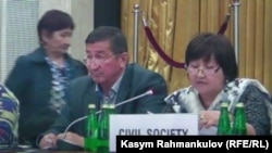 Кадыржан Батыров ЕККУ жыйынында
