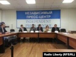 Пресс-конференция Экспертного совета оппозиции в Москве. 20 февраля 2013 года