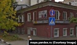 """Дом, в котором жил Адольф Демченко, – скриншот с сервиса """"Яндекс.Панорамы"""""""