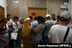Кримські татари в Київському суді Сімферополя