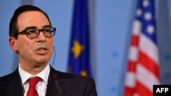 U.S. Secretary of the Treasury Steven Mnuchin (file photo)