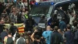 Dhunë e përleshje në Kataloni