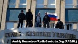 СМИ группировки «ЛНР» сравнивают захват здания СБУ в Луганске в апреле 2014 года с днем взятия Бастилии