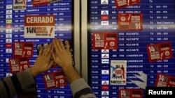 Три месяца назад аэропорт Мадрида парализовала всеобщая забастовка профсоюзов Испании.