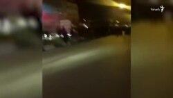 شعار «مرگ بر خامنهای» در تجمع کرمانشاه