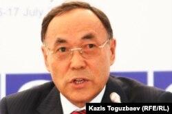 Канат Саудабаев, государственный секретарь РК. Алматинская область, 17 июля 2010 года.