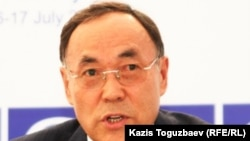 Kanat Saudabaev has been replaced as Kazakh Foreign Minister.